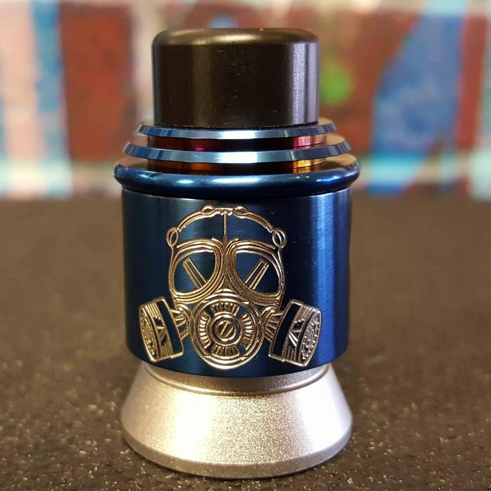 Apocalypse GEN 2 Polished Blue (24mm) RDAApocalypse GEN 2 Polished Blue (24mm) RDA